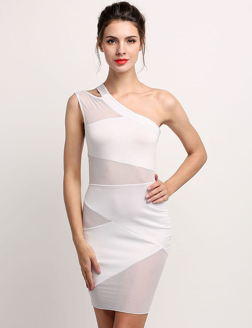 Sexy Mini Nightclub Bandage Dress