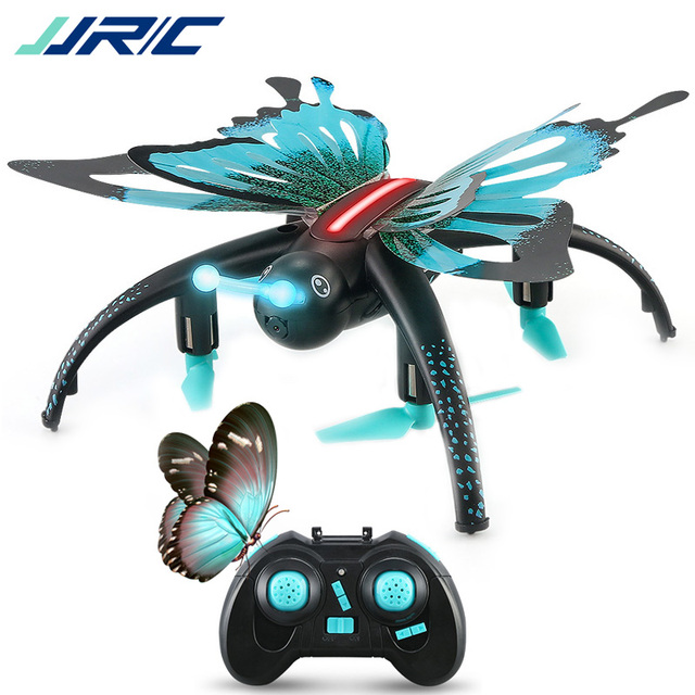 JJRC H42WH H42 Butterfly Shaped with Camera Wifi FPV Altitude Hold Remote Control Drone Quadcopter Helicopter for Kids Toys Gift