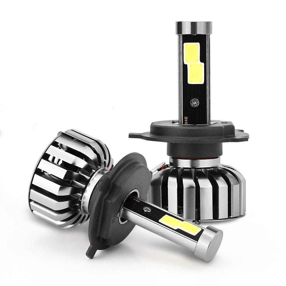 Kongyide 1 Set N7 H4 HB2 80W 8000LM Chips LED Headlight Kit Hi/Lo Beam Bulbs 6000K Dropshpping Apr17