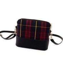 New 2017 famous brand shell canvas bags package women shoulder bag messenger bag women leather handbag Women pouch