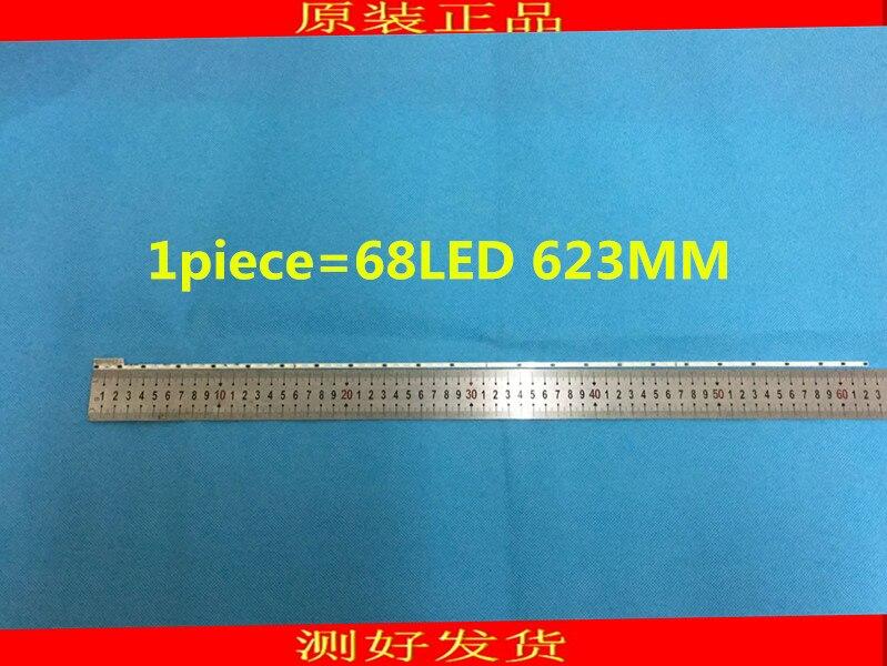 1piece FOR Haier LE50A5000 50DU6000 50 Inch Lamp Strips Article Lamp V500H1-ME1-TLEM9 Screen V500HJ1-ME1 1piece=68LED 623MM