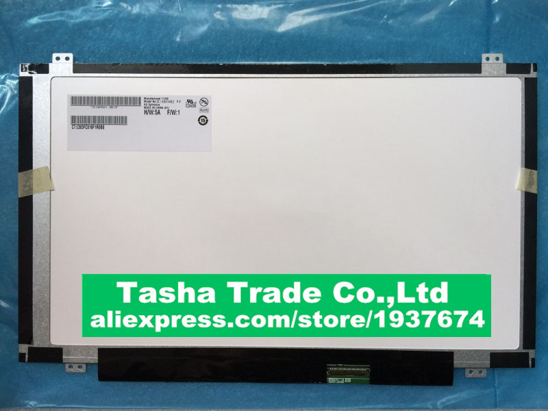 For HP PAVILION DM4-1000 LCD B140XW02 V.2 B140XW02 V2 LCD Screen Display 1366*768 Original Good Quality 18 5 inch lcd screen g185xw01 v2 v 2