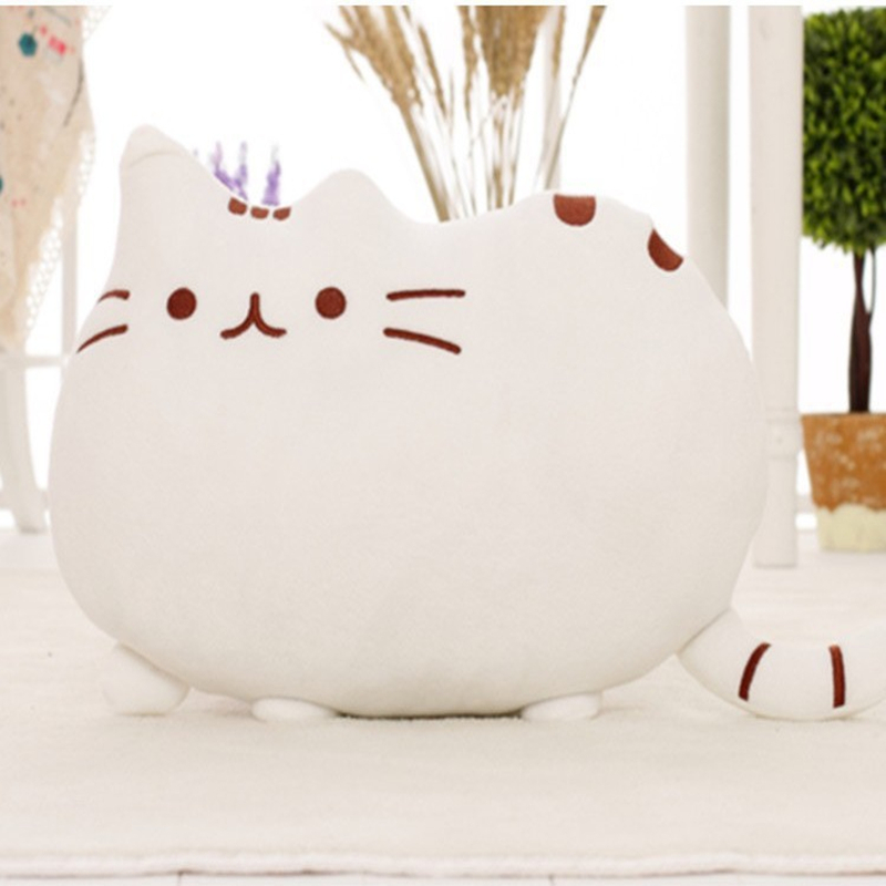 Aliexpress.com  Buy Kawaii Kids Toys Stuffed Animal Doll Peluches Anime Plush Toys Pusheen Cat Pillow For Girl Kid Cute Cushion Brinquedos 40*30 from