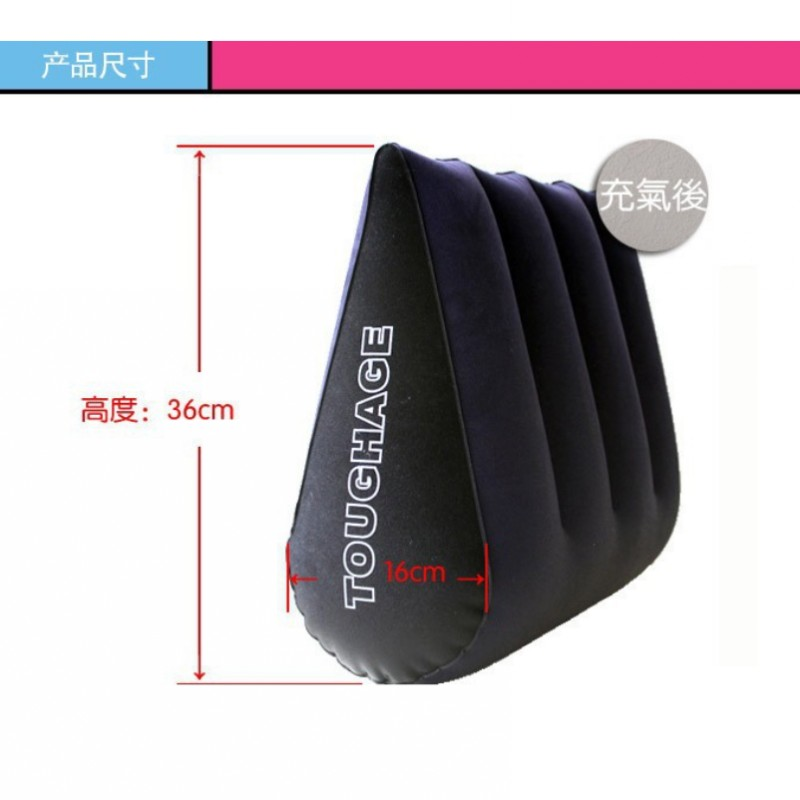 PF3101 Toughage Sex Pillow Cushion,Bondage Adult Sex Furniture Inflatable Sex Position bed wedge pillow For Sex Game Toys domi sex pillow furniture triangle magic wedge pillow cushion sofa bed erotic products adult game sex toys page 5