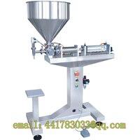 G1LGD50 500ml Semi Automatic Vertical Single Head Paste Filling Machine Vertical Tomato Sauce Jam Beverage Filling