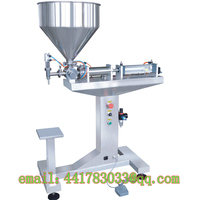 G1LGD50 500ml Semi Automatic Vertical Single Head Paste Filling Machine Vertical Tomato Sauce Jam Beverage Filling
