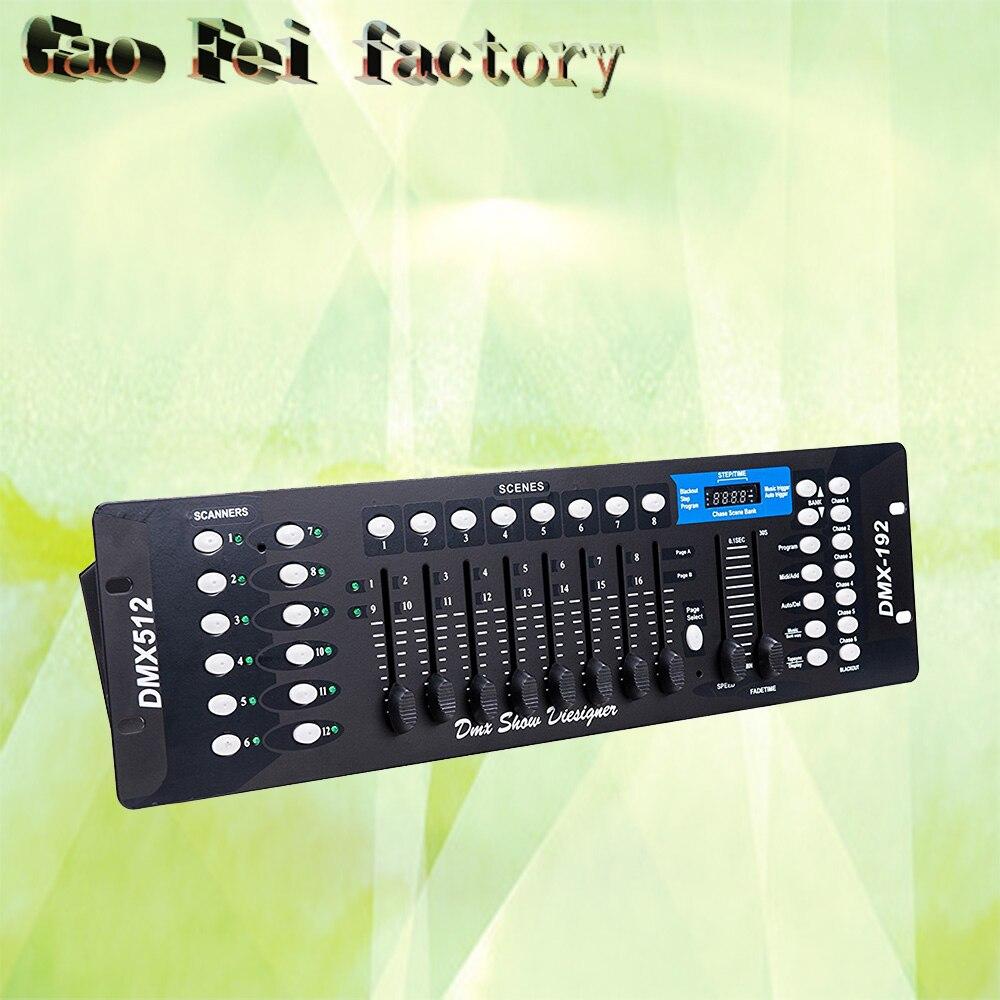 192 Controller Universale DMX Luce Della Fase di DMX 512 Console192 Controller Universale DMX Luce Della Fase di DMX 512 Console