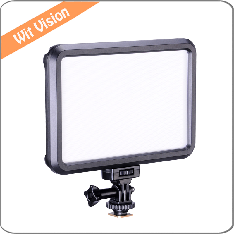 Ultra Thin Bi Color LED Video Light with Touch Control LED Panel for DSLR Photo and