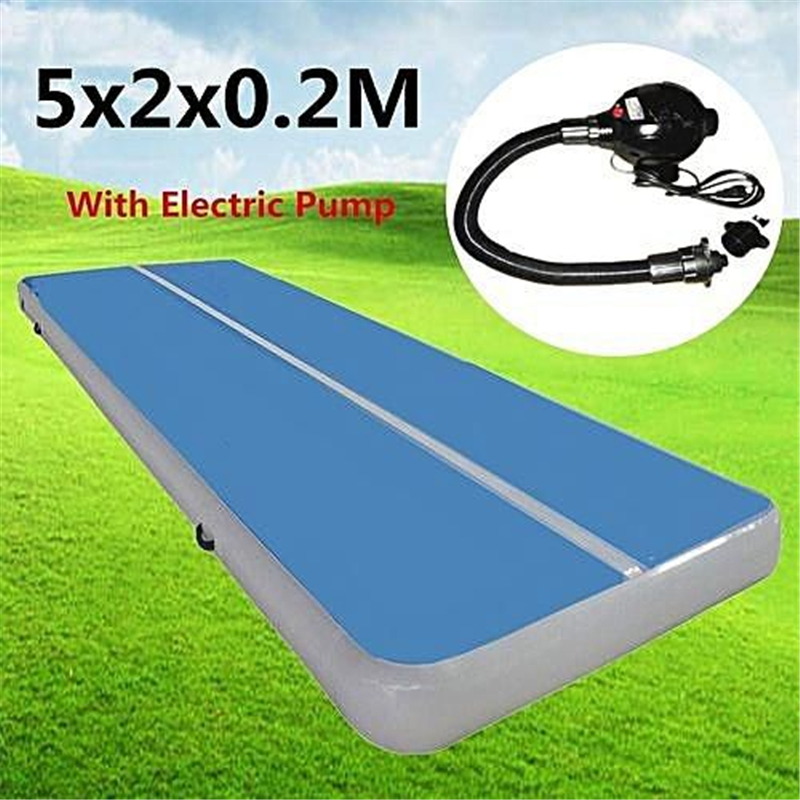 Inflatable air track High Quality 5x2x0.2m Inflatable Tumble Track Trampoline,Air Tumbling Mat ,Inflatable Air Track For SaleInflatable air track High Quality 5x2x0.2m Inflatable Tumble Track Trampoline,Air Tumbling Mat ,Inflatable Air Track For Sale