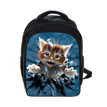 Coolost Brand Design Kindergarten Backpack Cute Cat Children School Bags Kids Cartoon Kitten School Backpack Mochila Infantil