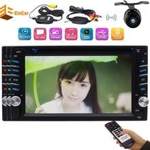 "Eincar 2din Car Radio Stereo 6.2"" Headunit Bluetooth FM AM Receiver USB SD Aux Multimedia autoradio DVD Player+Wireless Camera"