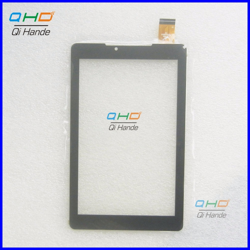 Black New Touch Screen Panel Replacement Digitizer Sensor For 7 Prestigio MultiPad Wize 3767 3G Tablet Touchscreen new 8inch touch for prestigio wize pmt 3408 3g tablet touch screen touch panel mid digitizer sensor