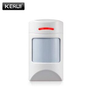Image 1 - KERUI Wireless Alarm Infrared Detector Anti Pet PIR Sensor Detector With long Detect Distance For KERUI Alarm System