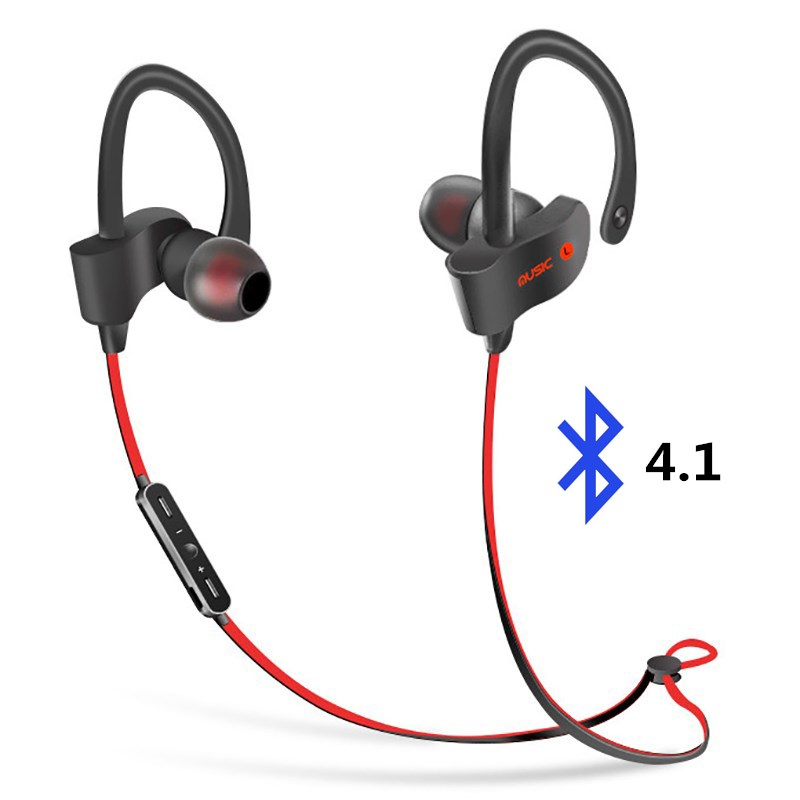 S2 <font><b>Wireless</b></font> <font><b>Bluetooth</b></font> 4.1 <font><b>Earphone</b></font> Sport Stereo Headset Super Bass Earbuds With Microphone for IPhone 6 7 Tablet universal