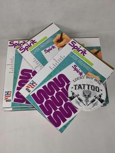 Image 4 - Geest Klassieke Stencil Thermische Transfer Papier & Geest Klassieke Sheet Carbon Transfer Papier Kopieerpapier Voor Tattoo Supply