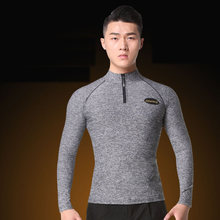 c9b790f6d Comfort Latin Dance Tops for Male Grey Color Long Sleeve Shirts Men  Ballroom Competitive Modal Chacha Samba Square Wears N7045