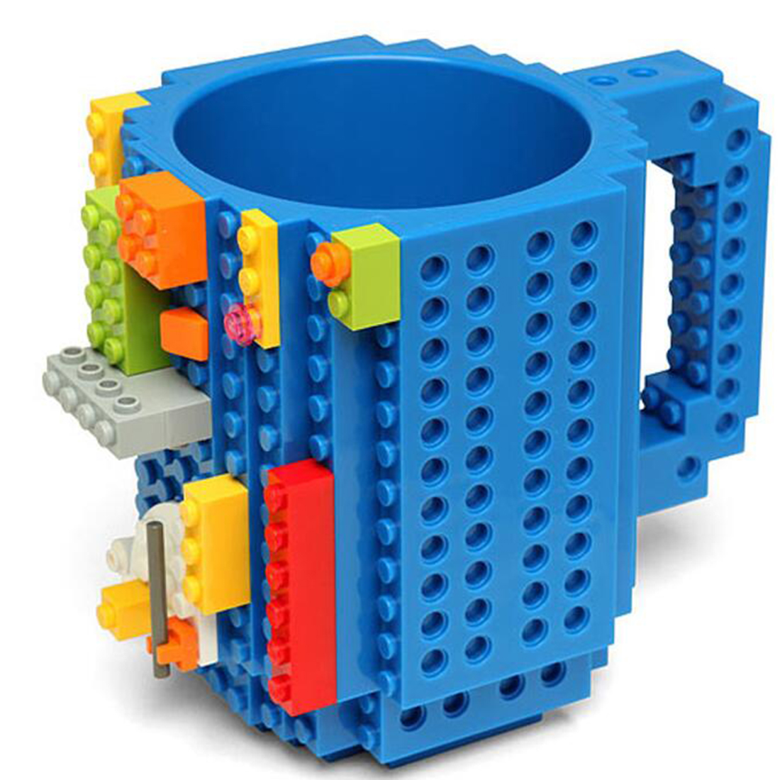 Best Seller Creative Drinkware Building Blocks Mugs DIY Coffee Cup Block Puzzle Mug 350ml Personality Water