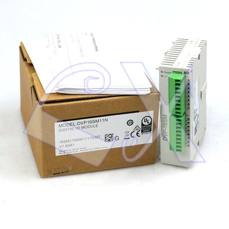 Original Delta DVP16SM11N PLC controller DC24V 16DI Digital Module-in Motor Controller from Home Improvement