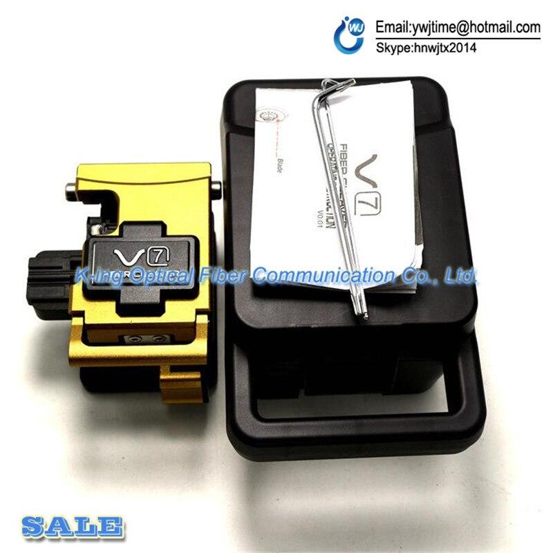 Livraison gratuite Dernière et date INNO V7 Optique Fendoir De Fiber IFS-15 View3 View5 View7 fiber Optique fusion colleuse