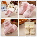 New Autumn Winter Newborn Thick Socks Cotton Terry Baby Warm Soft rubber slip-resistant cartoon Sock