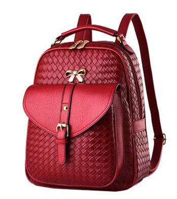 Free shipping fashion women backpack female backpacks high quality PU leather mochila bag