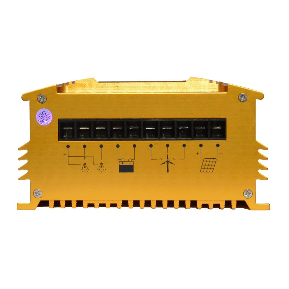 MPPT wind solar hybrid charge controller for 200-600W wind turbine generators