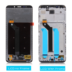 Image 3 - Original For Xiaomi Redmi 5 Plus LCD Display + Frame 10 Touch Screen For Redmi Note 5 Indian LCD Digitizer Replacement Parts