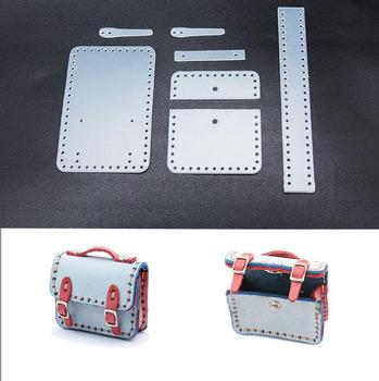 2021 DIY skóra craft Mini torba mała teczka wisiorek wykrój do szycia szablon pcv tanie i dobre opinie gtglad CN (pochodzenie) Q135 Kobiety