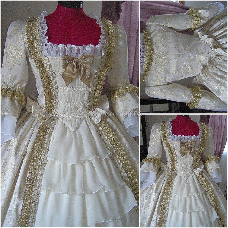 1860S Victorian Corset Gótico / Guerra civil Southern Belle Ball Vestido de gala Vestidos de Halloween CUSTOM MADE R-176