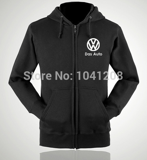 S~XXL size 4 colours winter jackets Volkswagen VW 4S worker clothes sweatershirt pullover