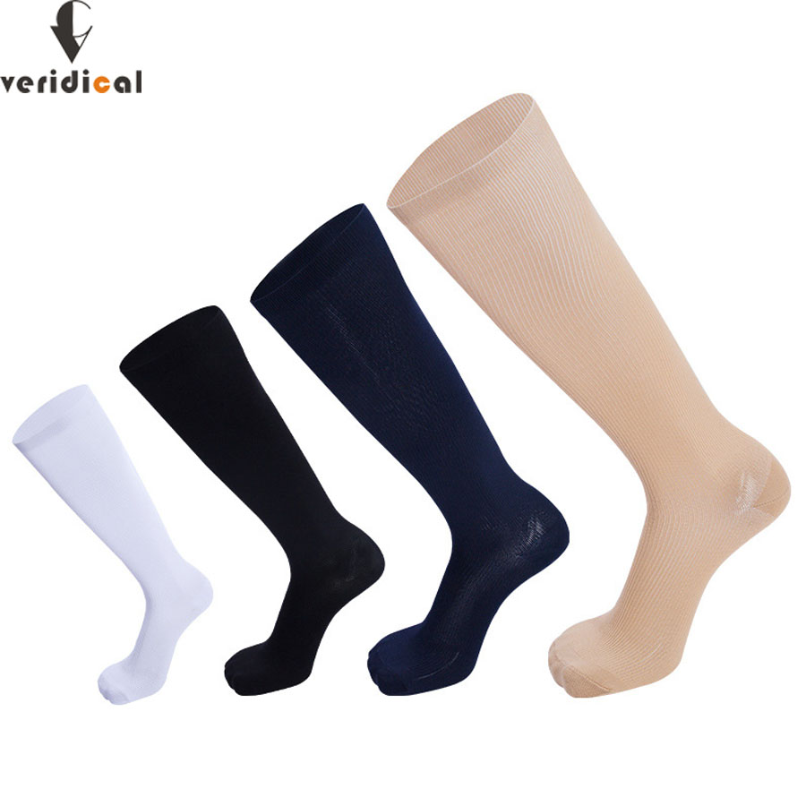 5 Pairs 20-30 MmHg Graduated Compression Socks Firm Pressure Circulation Quality High Orthopedic Support Stockings Hose Sock