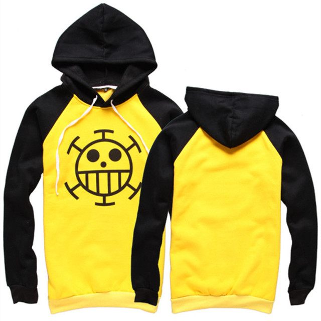 One Piece Yellow Hoodie