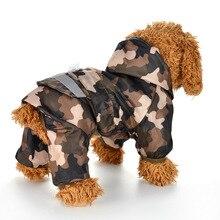 Дождевик для собак, дождевик для щенков с капюшоном, светоотражающая водонепроницаемая одежда для собак, мягкая дышащая одежда для домашних животных, кошек, маленьких собак, дождевик, XS-2XL