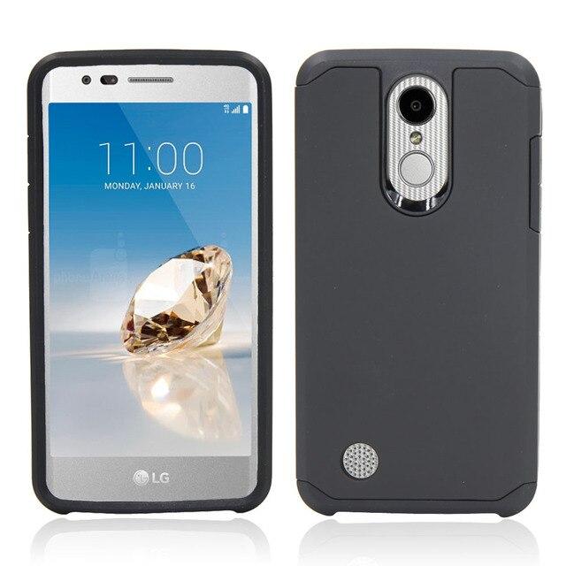 black Phone case lg k20 5c64f48294531