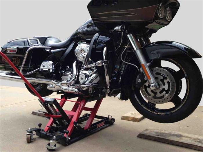 1500LBS MOTORCYCLE LIFT JACK FOOT STEP TYPE