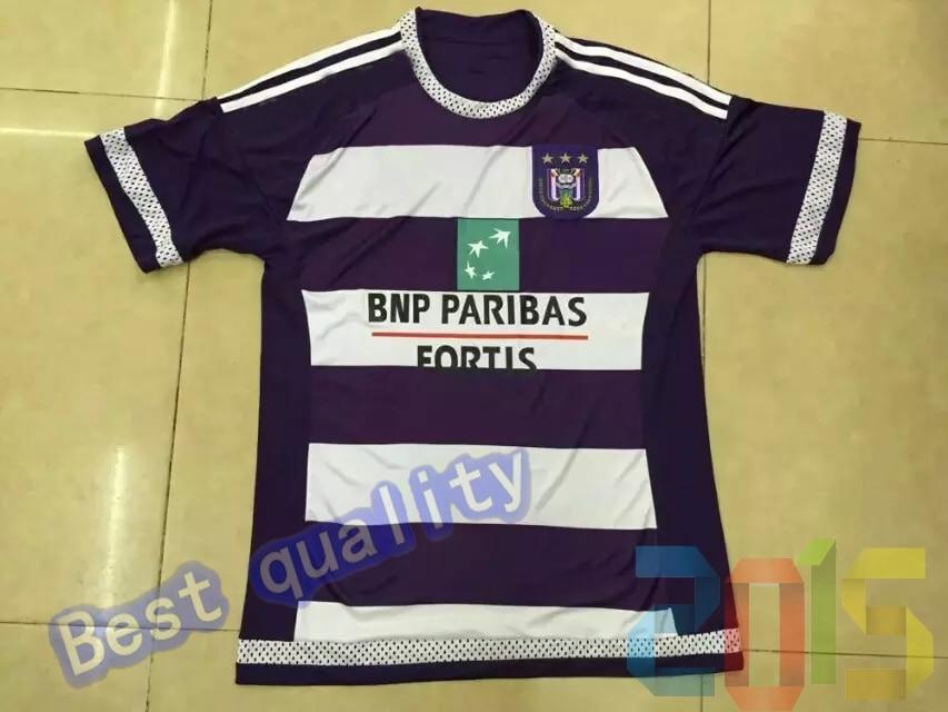 d92c590e70a Anderlecht Jersey rsc anderlecht home 15/16 Belgium Pro League Soccer  Jersey best quality 2015/2016 football shirt-in Soccer Jerseys from Sports  ...