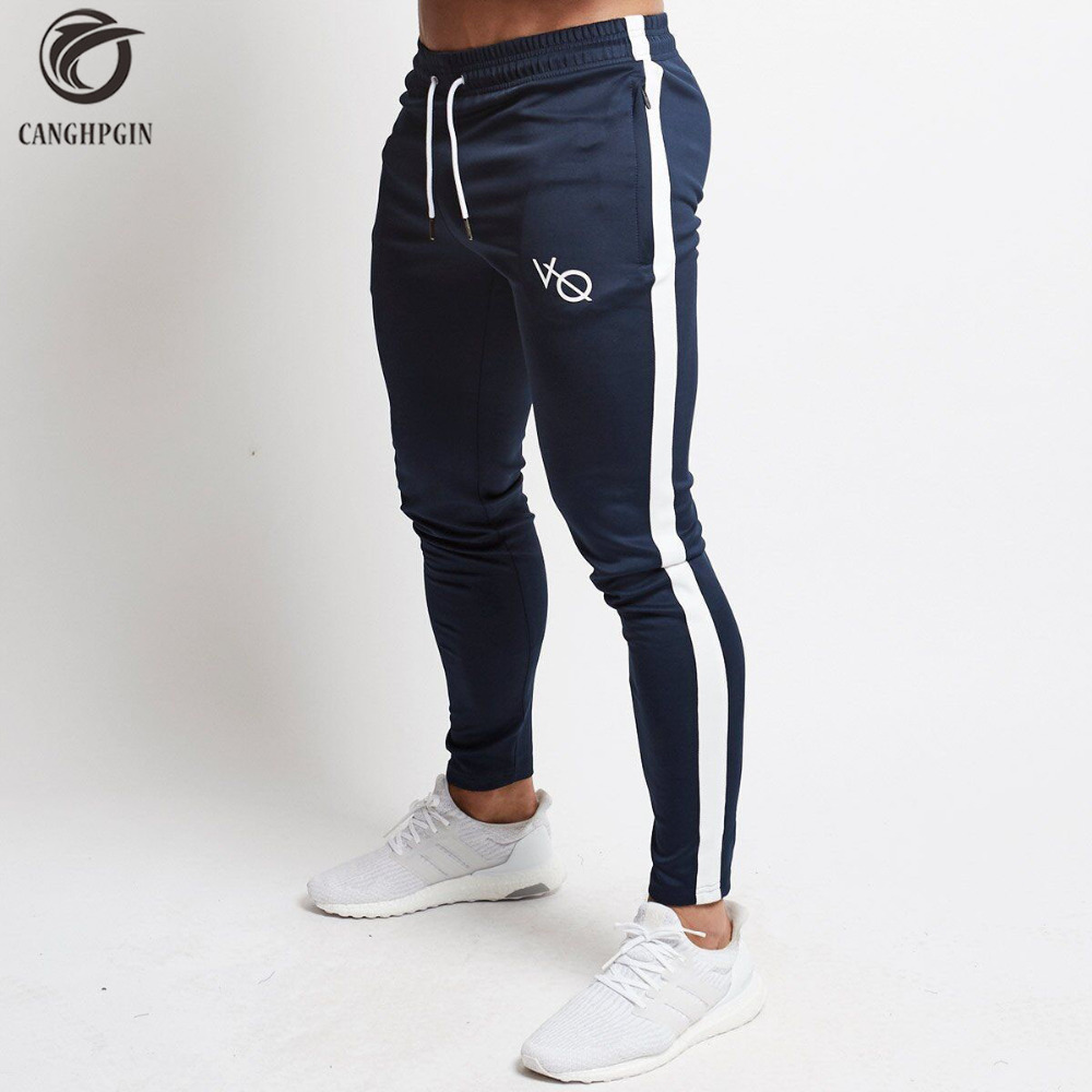 Dry Slim Running Tights Men Comression Pants Sports Jogging Leggings Mens Fitness Training Sweatpants Gym Clothing Long Trousers цена