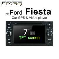 OZGQ Android 7,1 автомобильный dvd плеер для Ford Fiesta 2002 2008 экран Авто gps навигация Bluetooth, радио, ТВ Аудио Видео Стерео