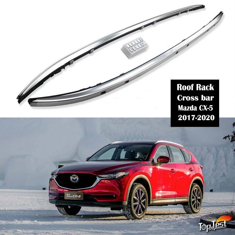 Aluminum Alloy Roof Rack For Mazda CX-5 CX5 2016-2020 Rails Bar Luggage Carrier Bars Top Cross Bar Rack Rail Boxes