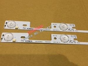 Image 5 - New 100Pieces LED backlight bar for KONKA KDL39SS662U 35018339 35018340 327mm 4 LEDs( 1 LED 6V)