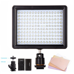 WanSen W160 LED Video Camera Light Photo For Canon Nikon Sony DSLR Camera same With CN-160 Photography Lighting Daylight Lamp
