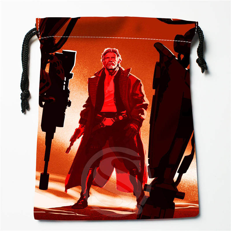 J&w83 Hot Star Wars Custom Printed  Receive Bag Compression Type Drawstring Bags Size 18X22cm W725&j83DW