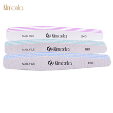 10pcs Nail File Sandpaper Mix Grits Double-sided Art Buffer Sanding Files DIY Manicure Care Tools
