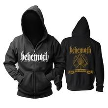 Bloodhoof behemoth группа черного цвета в стиле «дэт-метал» Металл прогрессивный Металл топ черный худи Азиатский размер