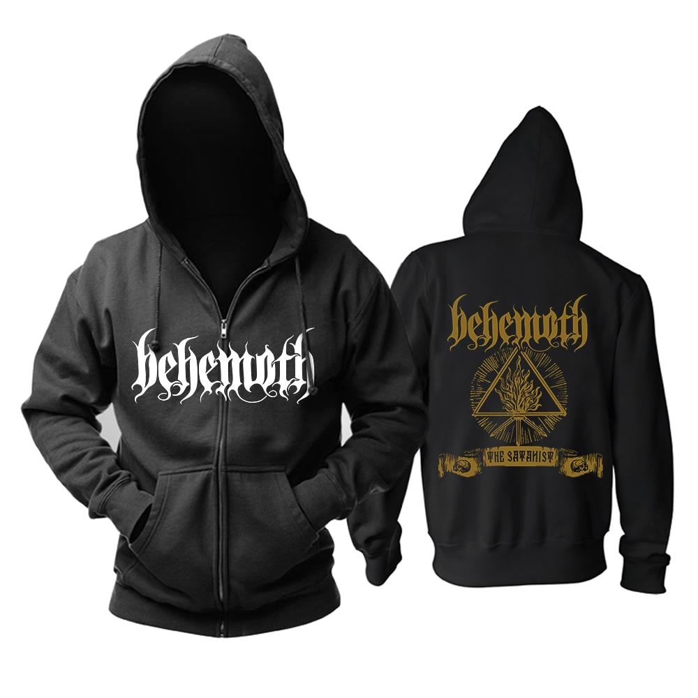 Bloodhoof Behemoth Band Death Metal Black Metal Progressive Metal New Top Black Hoodie Asian Size