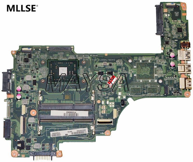 A000390300 Fit for Toshiba Satellite C55DT-C Laptop Motherboard with A4-7210 1.8GHz CPU , 100% working new 15 6 for toshiba satellite c55dt a5241 c55dt a5306 c55dt a5307 c55dt a5106 c55dt a5305 touch screen glass panel digitizer