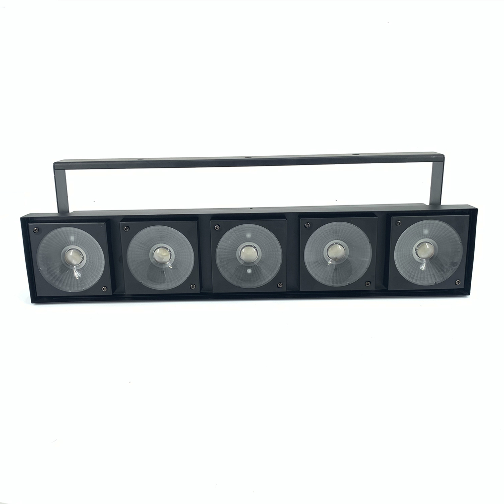 5x30W 3in1 RGB COB LED Matrix Stage Lighting dj Light 150W Warm White led par Good for disco  Professional  Stage Lighting