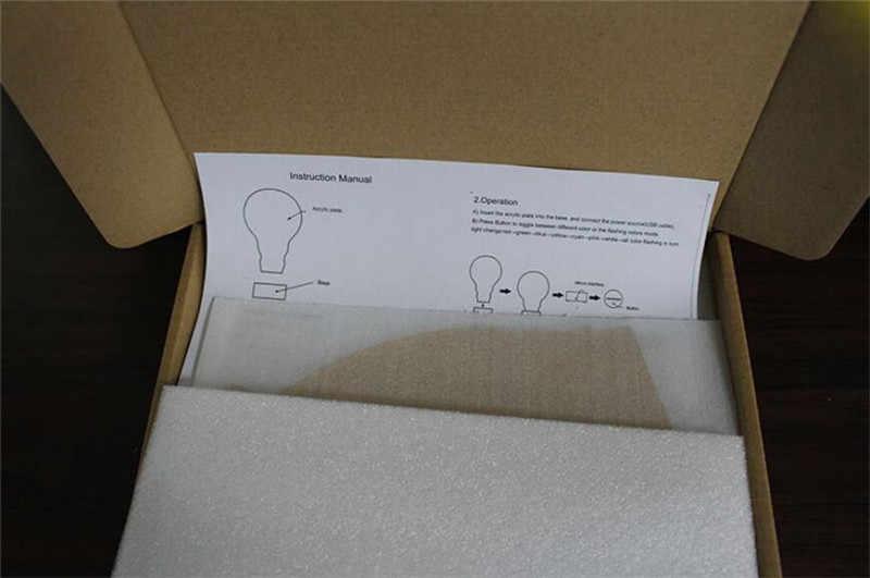 Harri Potter 3D светодиодный светильник 7 цветов Изменение визуальной иллюзии Фигурки игрушки Детские Фигурки Рождественский подарок игрушки для детей