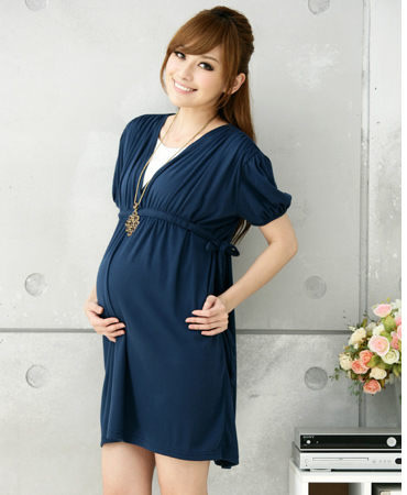 summer new arrival  maternity dress ,casual one-piece cotton dress for pregnant women free shipping