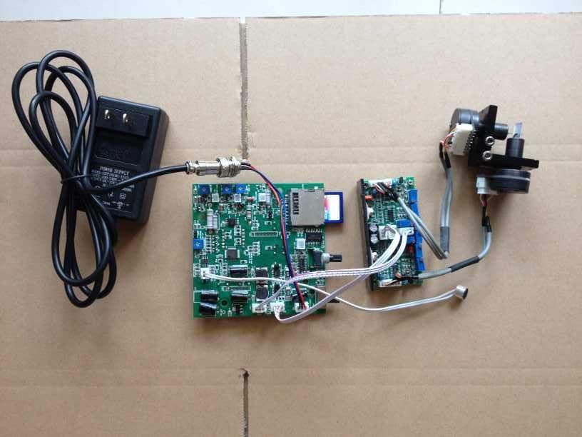 K laser galvo mirror w power supply program board ic